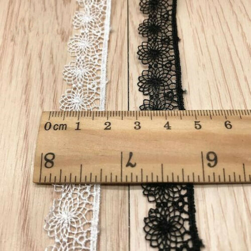 5yd Hollow flowers lace clothing lace Lolita dress DIY Trims sewing accessories