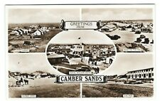 The Royal William Camber Sussex Sepia Postcard Real Photograph 1930s