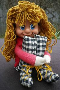 Rare-Vintage-1950-039-s-60-039-s-Israel-Girl-Doll-Israeli