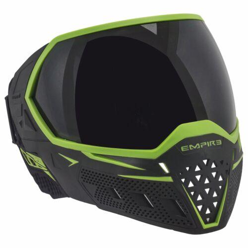 Nouvel Empire EVS Thermal Paintball Lunettes masque-noir//vert citron