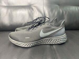 Black Running Sneakers Extra Wide