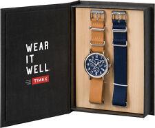 Timex TWG012800 Men's Weekender Interchangeable Band Box Set Chronograph Watch