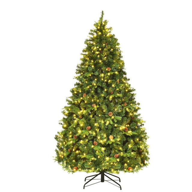 7ft Black Pre Lit Christmas Tree: Vickerman Pre-Lit Black Pine Artificial Halloween
