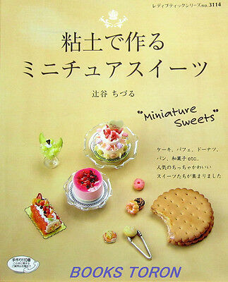 Clay Miniature Sweets /Japanese Handmade Craft Pattern Book