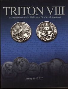 Cng Triton Viii Grek Roman Coin Ancient Coins 2005 Reference Auction Catalog Ebay
