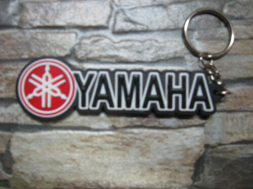 1x Schlüsselanhänger Schlüsselring Yamaha Racing Motorsport Biker MC Silikon FX