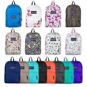 Image Is Loading Jansport Superbreak Backpack 100 Authentic School Bag 15