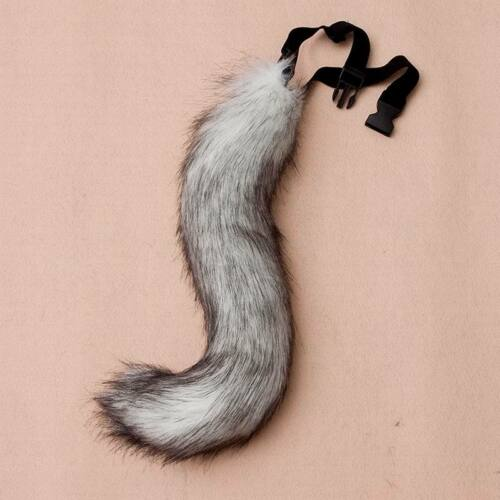Wolf Puppy Furry Fursuit Cosplay Cute Fashion Fox Fake Faux Fur Costume Tail