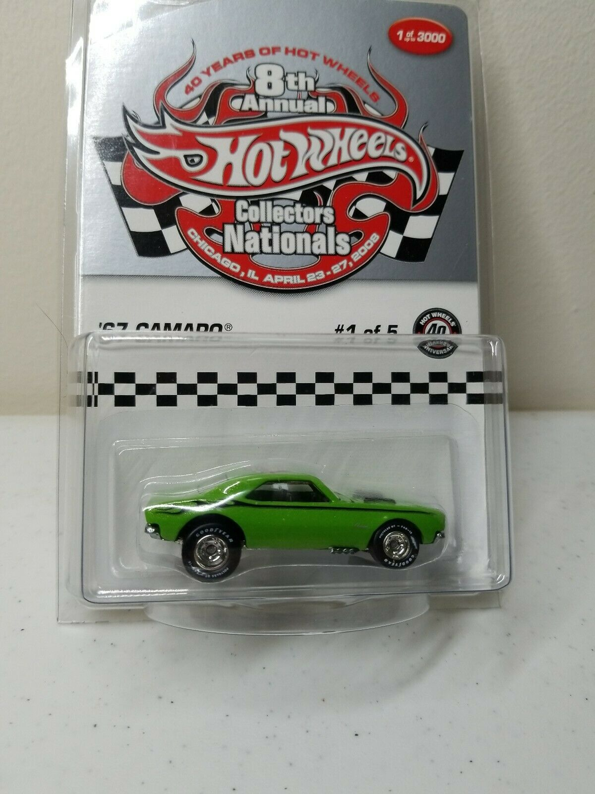 '67 Camaro Of Of Of 5 Hot Wheels 8th Annual Collector Nationals Of 5 3a8401