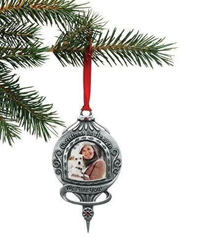 Christmas In Heaven Ornament.Cathedral Art Co745 Christmas In Heaven We Miss You Memorial Ornament