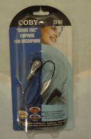 Coby hands-free Earphone With Microphone - Cv-m4 - Nip