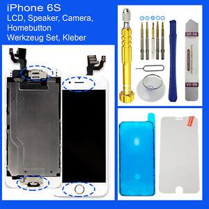 RETINA-Display-fuer-iPhone-6S-LCD-Komplett-VORMONTIERT-Front-Glas-Weiss-Withe