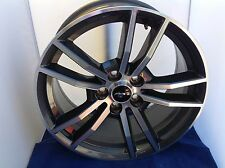 2017 2016 Ford Mustang Gt 18 Wheels Oem Factory Machined Gray Rims 10030
