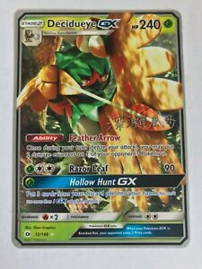 Decidueye-GX-World-Champion-ULTRA-RARE-12-149-Pokemon-Sun-and-Moon-NM-2017