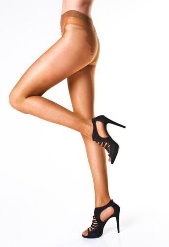 M SHEER morbida lucentezza Collant con alta Taglio Bikini Patterned Finto Pizzo Breve S L
