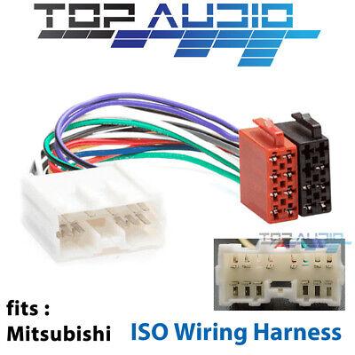 Mitsubishi ISO wiring harness adaptor cable connector lead loom plug   eBayeBay