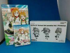 Love Live School Idol Paradise Vol. 1: Printemps Unit -- First Print Limited Edition (Sony PlayStation Vita, 2014) - Japanese Version
