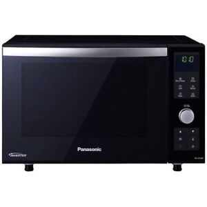 Image Is Loading Panasonic Combination Flatbed Microwave Nn Df386b Black