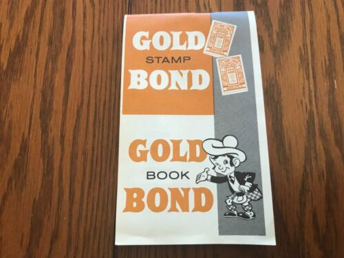 great collectible memento! Vintage Gold Bond Trading Stamps Book Complete