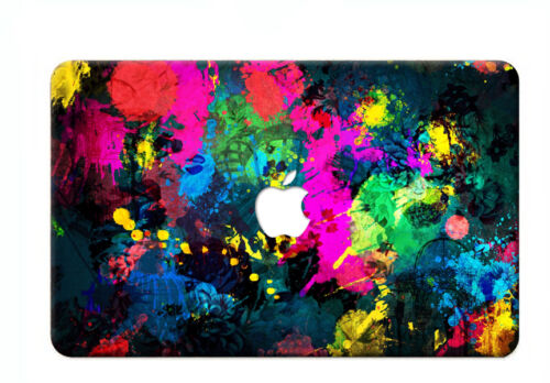 FREE Rainbow Keyboard Cover+Customized Printed Hard Cases for MAC Laptop MacBook