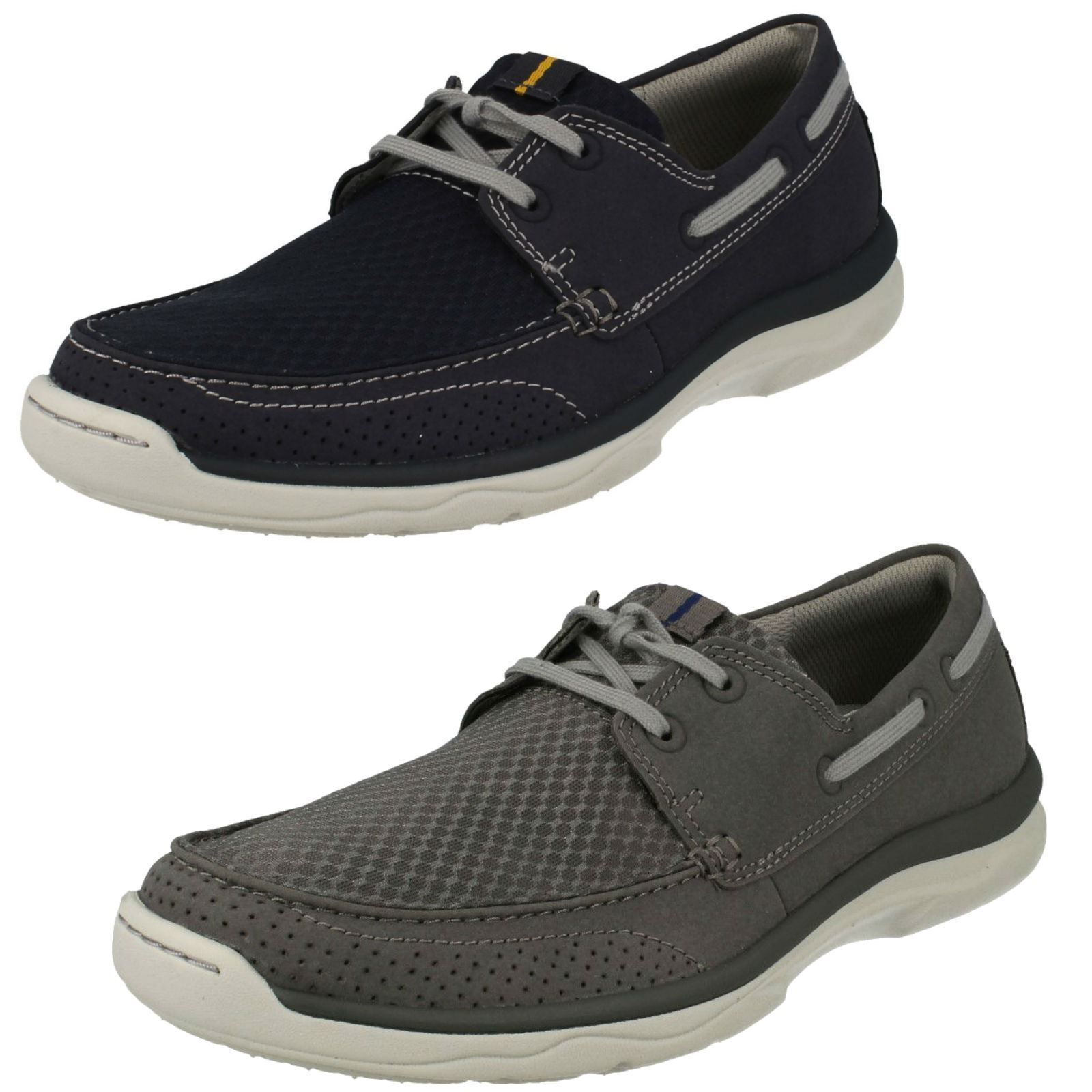 Mens Clarks Cloudsteppers Lace Up Casual shoes Marus Edge