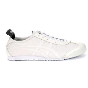 ASICS Unisex Mexico 66 White/White Sneakers 1183A443.100 NEW