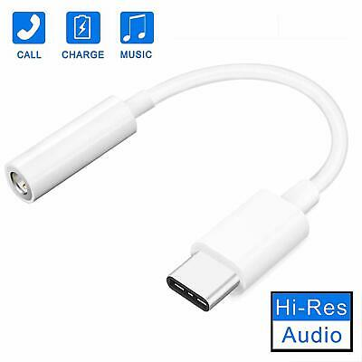 Type-C//USB-C Audio Aux Adapter 2 in 1 to 3.5mm Jack Headphones Type C Car Charger Converter Connector Splitter Support Google Pixel 2//3XL,Samsung Note8//S8//S9 Plus,HTC U12,LG iPad Pro 2018,Etc White