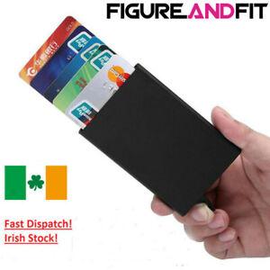 New-Metal-ID-Credit-Card-Holder-RFID-Protector-Aluminum-Slider