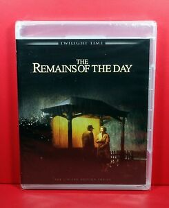 THE REMAINS OF THE DAY (1993) Twilight Time Blu Ray, Anthony Hopkins ~ BRAND NEW
