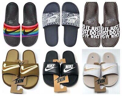 Nike Benassi JDI Logo Slides Men's 8 11