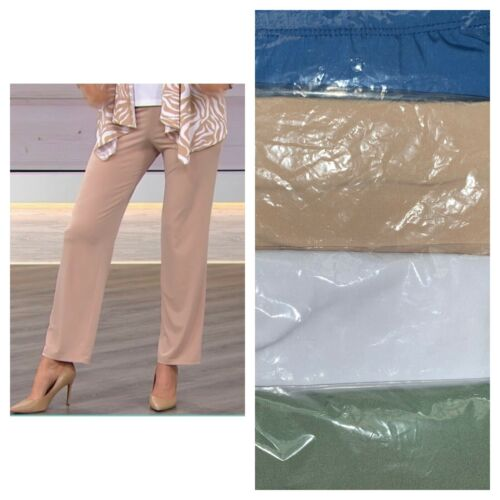 Slinky Brand Basic Knit Pants 621-305
