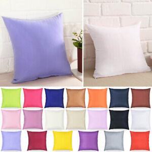 SQUARE-decorative-semplice-cuscino-copertura-Casa-Ufficio-Divano-Buttare-caso-40-40cm