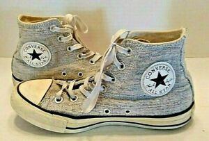 a28410e7c333 Converse All Star Chuck Taylor High Top Glitter Sparkle Metallic ...