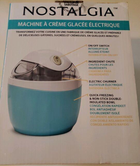 Nostalgia Electrics 1-Pint Electric Ice Cream Maker