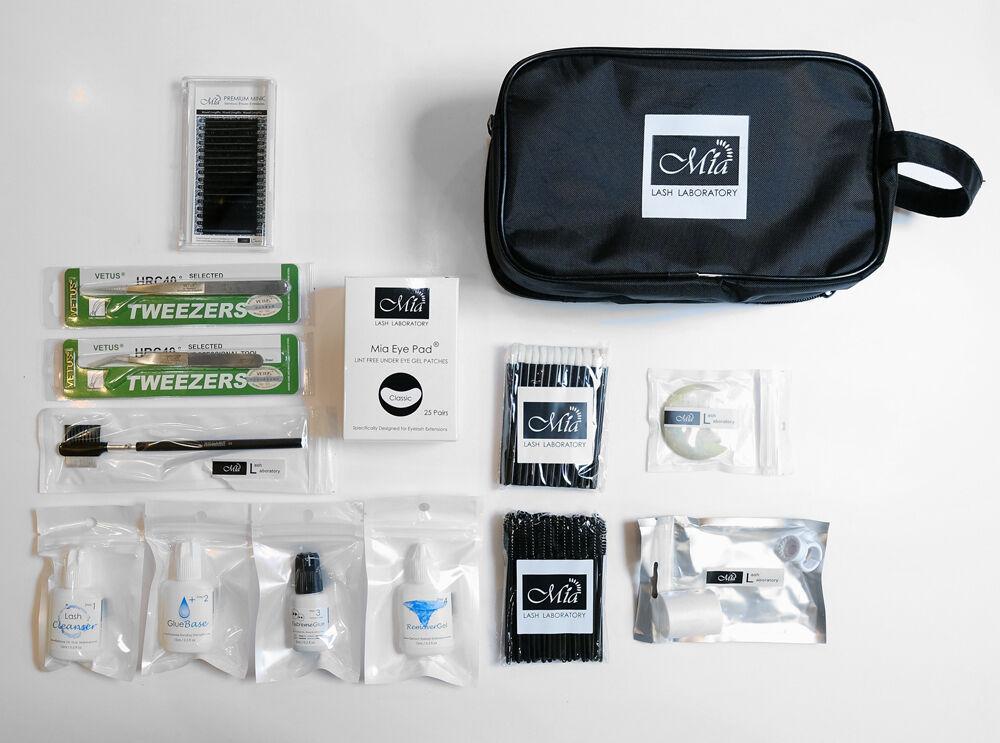 Professional Lash Kit for Eyelash Extension Artist Semi Permanent Beauty Salon 8