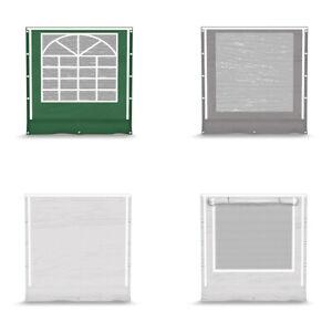 Seitenwand 2x2m 4 Stck. PVC Gartenzelt Lagerzelt moskitionetz Pavillon Partyzelt