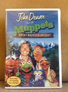 John-Denver-y-The-Muppets-Un-Rocky-Mountain-Holiday-DVD-2003-Nuevo-y-Sellado