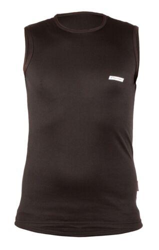 Homme thermique couche de base sans manches Sous-vêtement Tank top gilet Coolmax Extreme