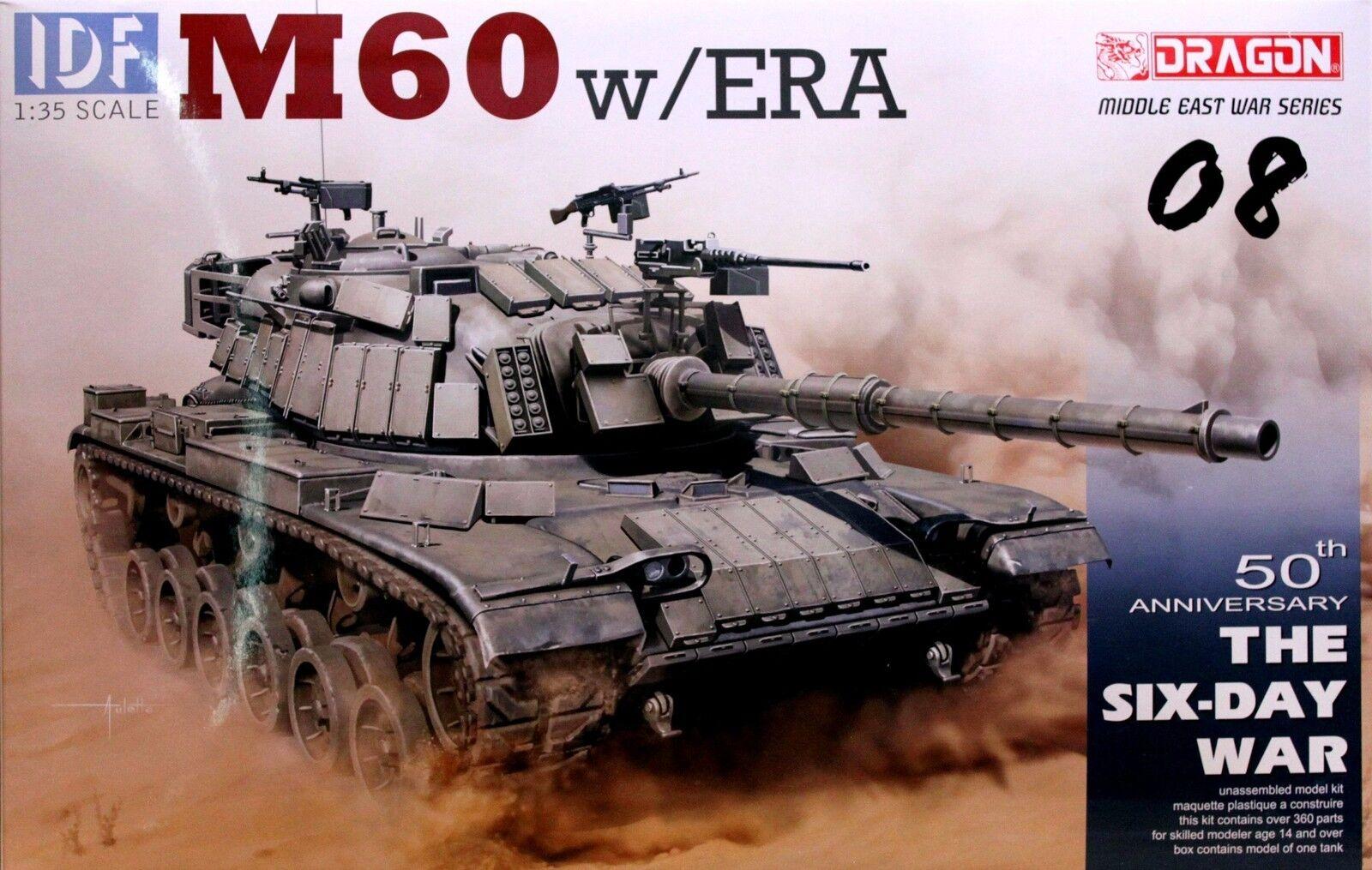 Dragon 1 35 3581 IDF M60 w ERA (The Six-Day War) (Middle East War Series)
