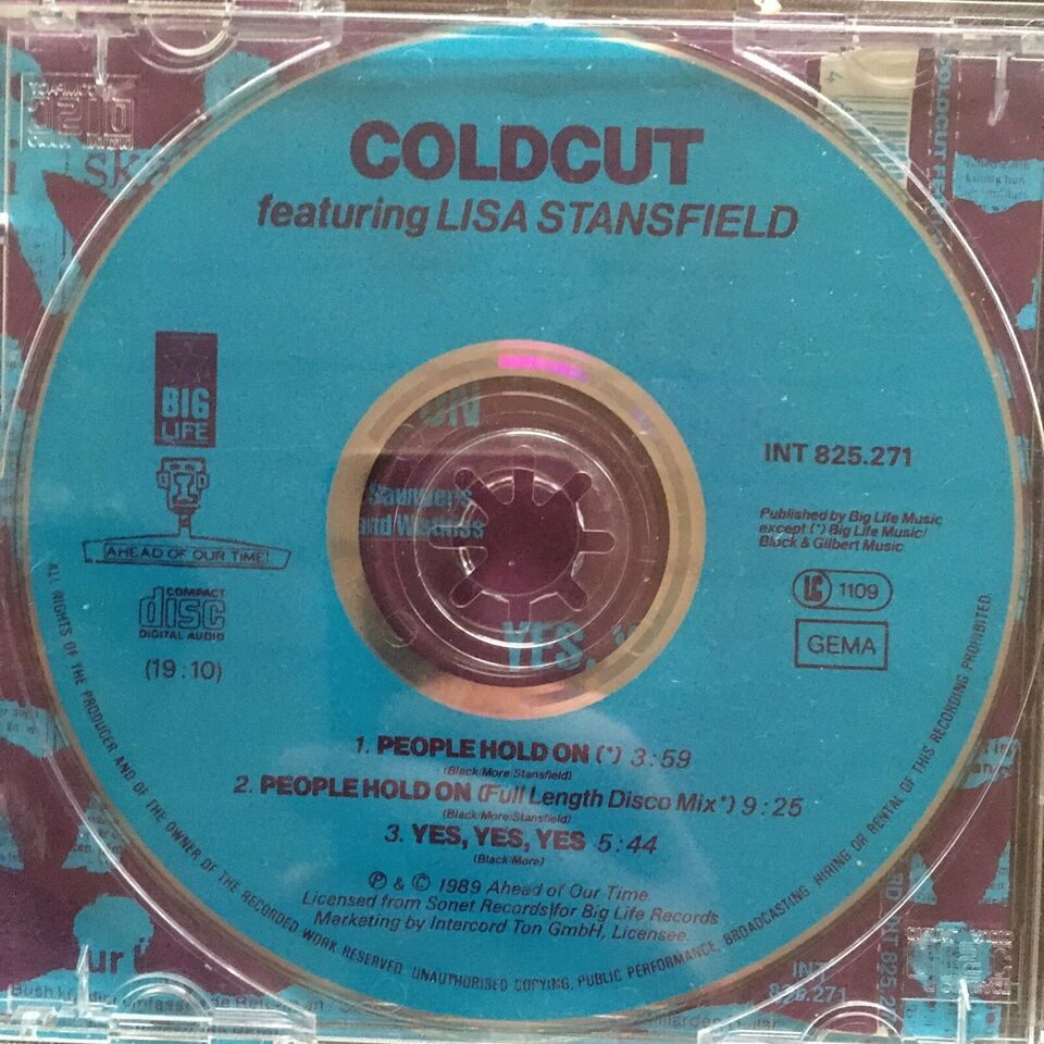 Coldcut: People hold on, electronic