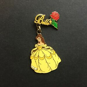 Disney-Classics-Expression-Belle-Dangle-Disney-Pin-24037