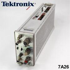 Tektronix 7a26 Dual Trace Amplifier Plug In Module
