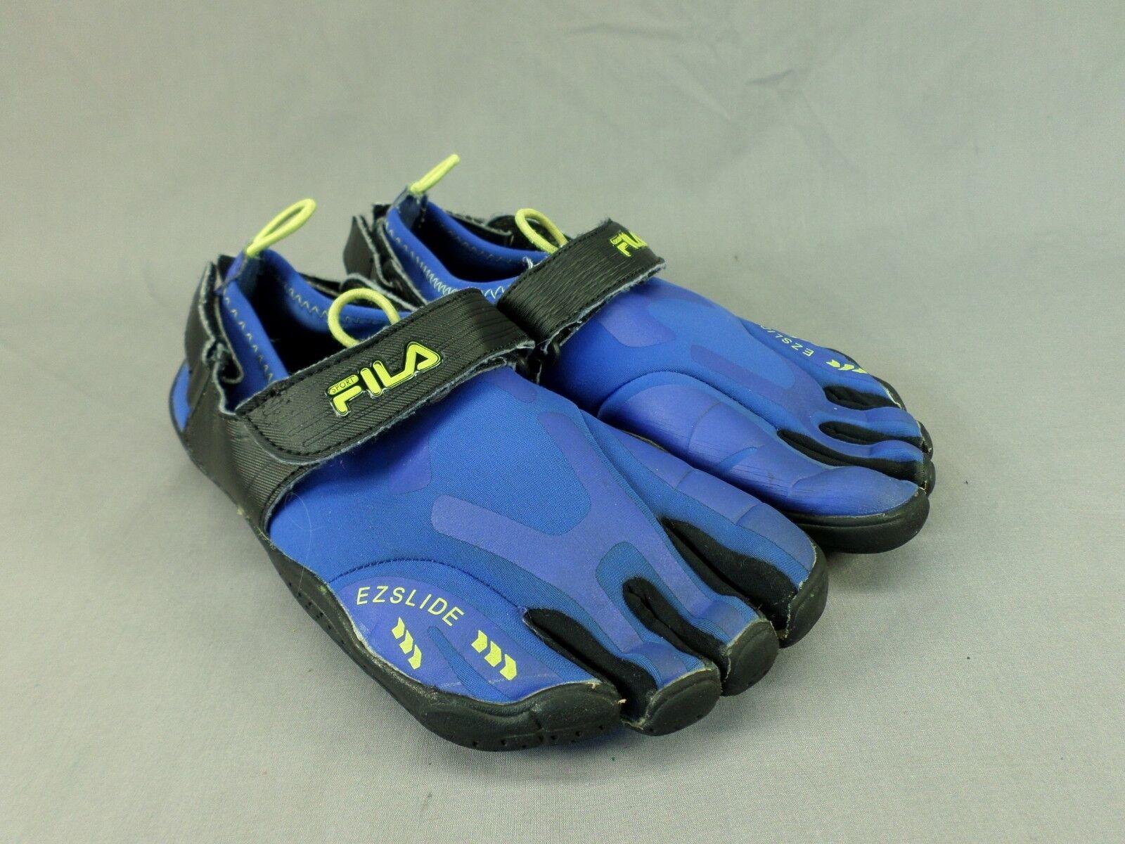 Fila Skele-toes Running Shoes EZ Slide Water Barefoot Sneaker Blue US 7  Comfortable and good-looking