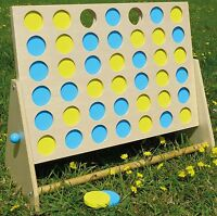 4 In A Row Garden Family Games Play Playset Fun Gift Kids Games Outdoor Board