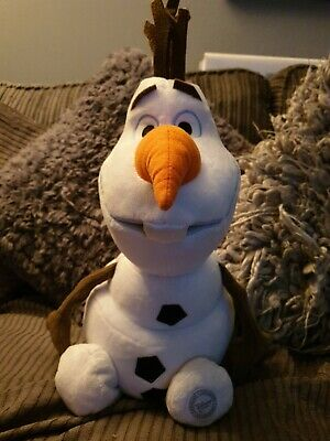 "Disney Store Exclusive Large Olaf Plush Soft Toy 16/"" Excellent Condition"