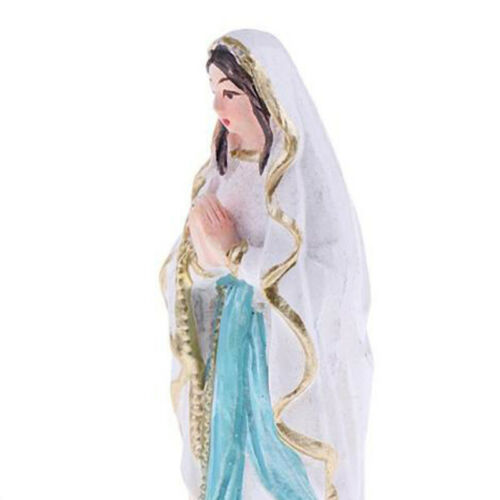 Layout Virgin Mary Statue Adornment Resin Model Figurine Handicraft Ornament