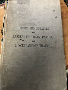 1904-LONDON-NORTH-WESTERN-RAILWAY-BOOK-passenger-train-parcels-routes-railwayana
