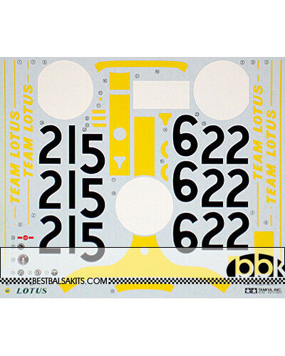 TAMIYA ORIGINAL REPLACEMENT DECAL 1 12 LOTUS 49