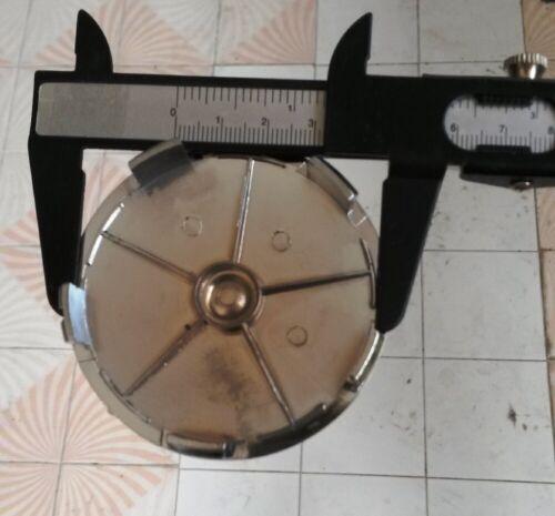NUOVO 5 4 cerchioni coprimozzo Coperchio Mozzo Coperchio Cromo 68//64mm