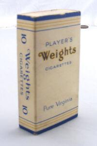 Belle Échelle 1:12 Vide Joueurs Poids 10 Paquet De Cigarettes Tumdee Maison De Poupées Bar-afficher Le Titre D'origine Les Couleurs Sont Frappantes